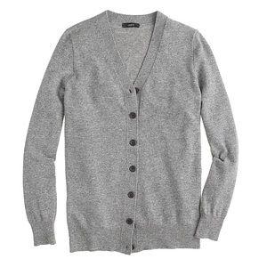 J Crew Merino Wool Sweater Cardigan V Neck